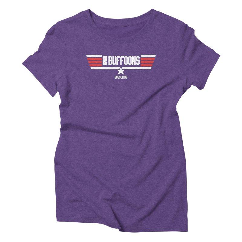 Top Buffoons Maverick Gun Women's Triblend T-Shirt by 2buffoons's Artist Shop