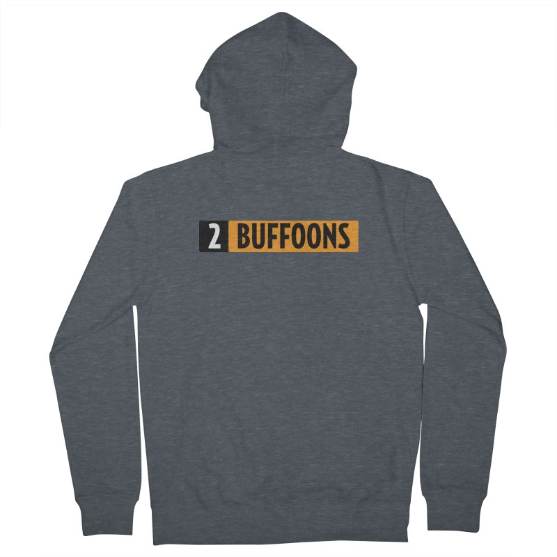 2 Buffoons Hub Women's French Terry Zip-Up Hoody by 2buffoons's Artist Shop