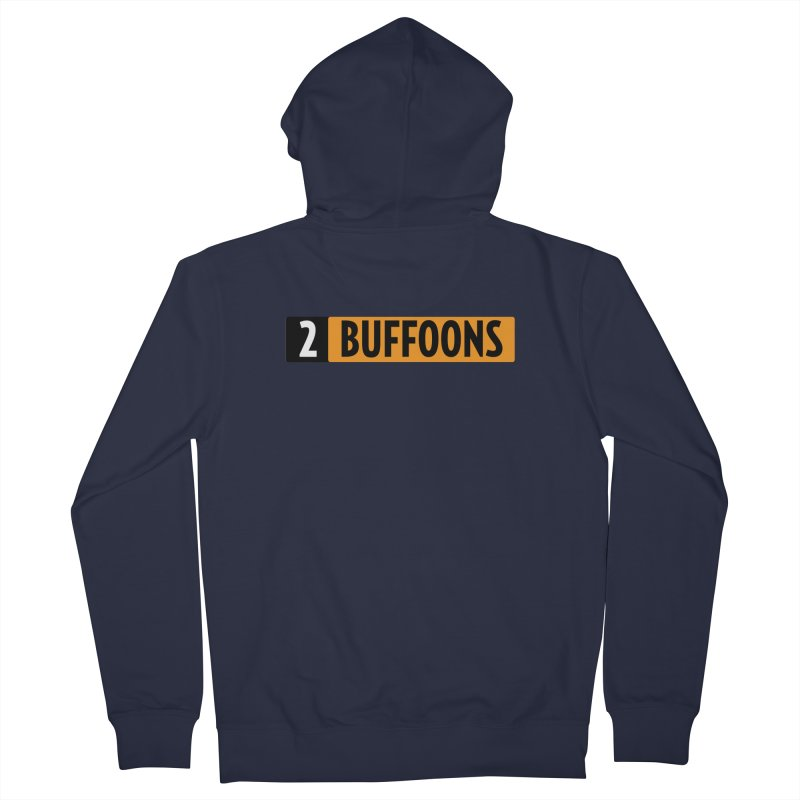 2 Buffoons Hub Men's French Terry Zip-Up Hoody by 2buffoons's Artist Shop