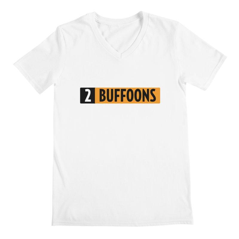 2 Buffoons Hub Men's Regular V-Neck by 2buffoons's Artist Shop