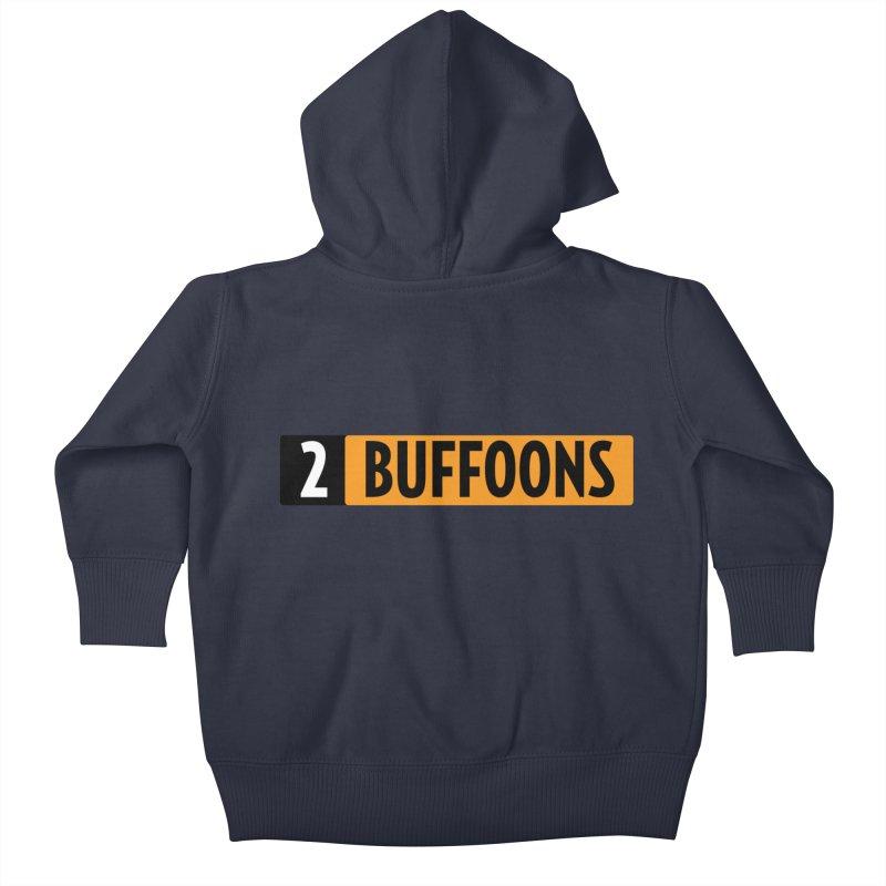 2 Buffoons Hub Kids Baby Zip-Up Hoody by 2buffoons's Artist Shop