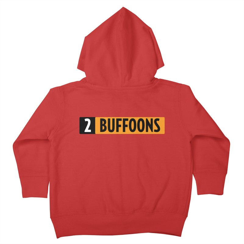 2 Buffoons Hub Kids Toddler Zip-Up Hoody by 2buffoons's Artist Shop