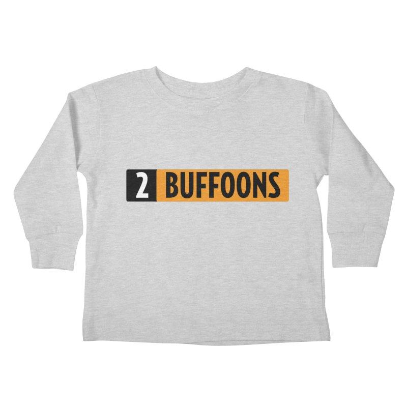 2 Buffoons Hub Kids Toddler Longsleeve T-Shirt by 2buffoons's Artist Shop