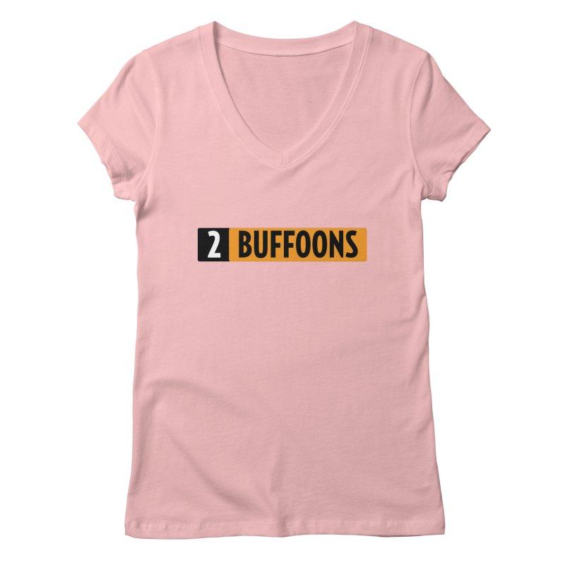 2 Buffoons Hub Women's Regular V-Neck by 2buffoons's Artist Shop