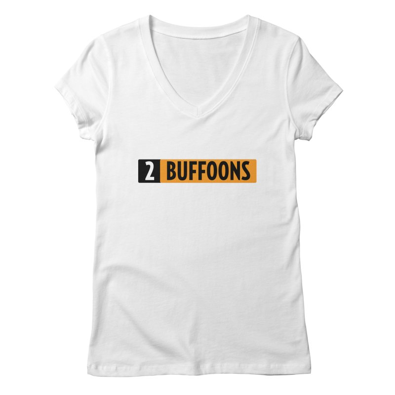 2 Buffoons Hub Women's Regular V-Neck by 2buffoons's Artist Shop