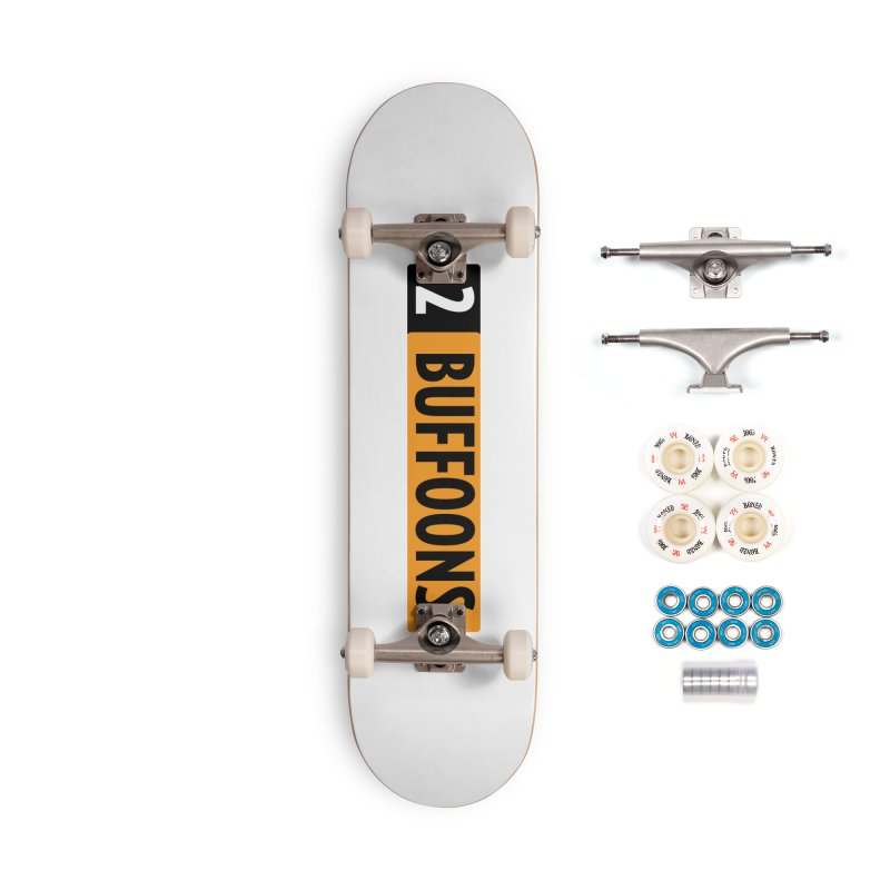 2 Buffoons Hub Accessories Complete - Premium Skateboard by 2buffoons's Artist Shop