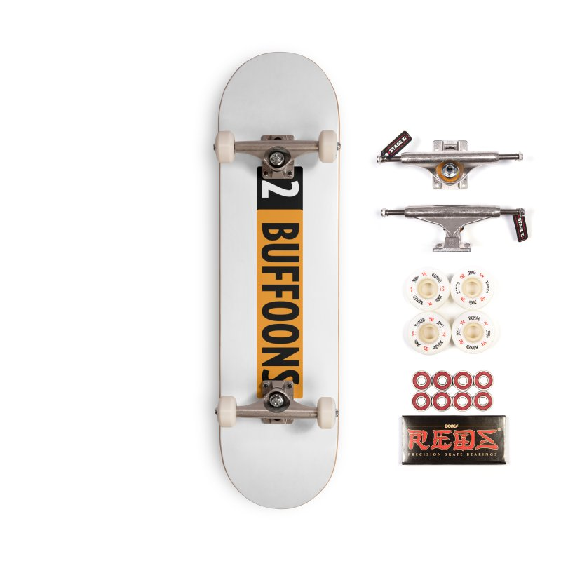 2 Buffoons Hub Accessories Complete - Pro Skateboard by 2buffoons's Artist Shop