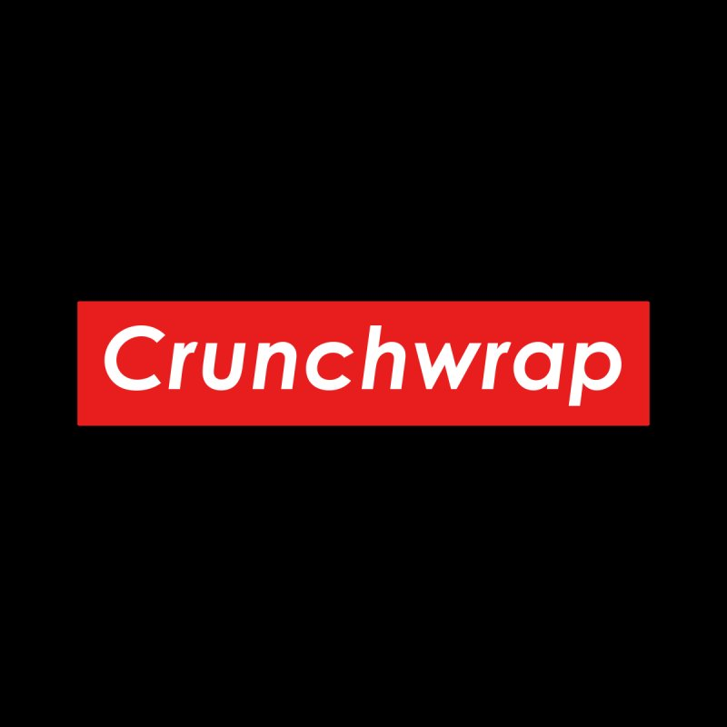CrunchWrap Men's T-Shirt by 2buffoons's Artist Shop