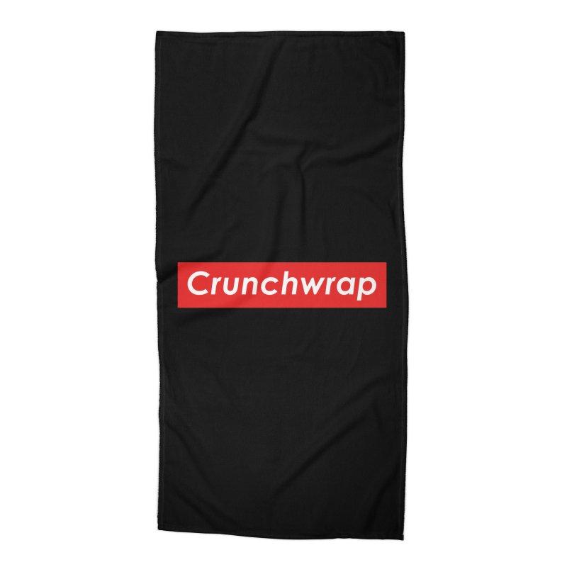 CrunchWrap Accessories Beach Towel by 2buffoons's Artist Shop