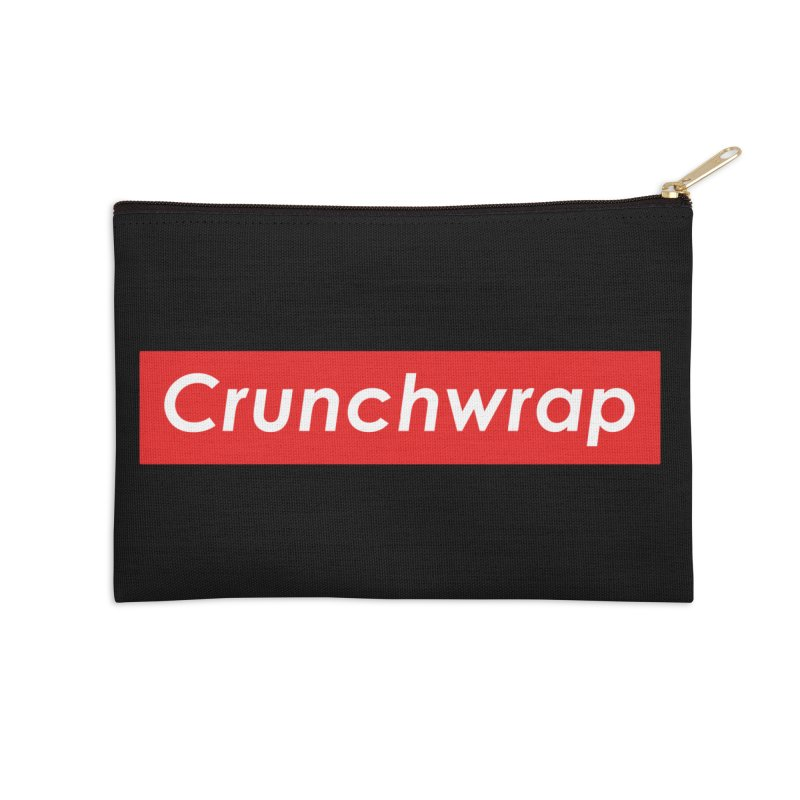 CrunchWrap Accessories Zip Pouch by 2buffoons's Artist Shop