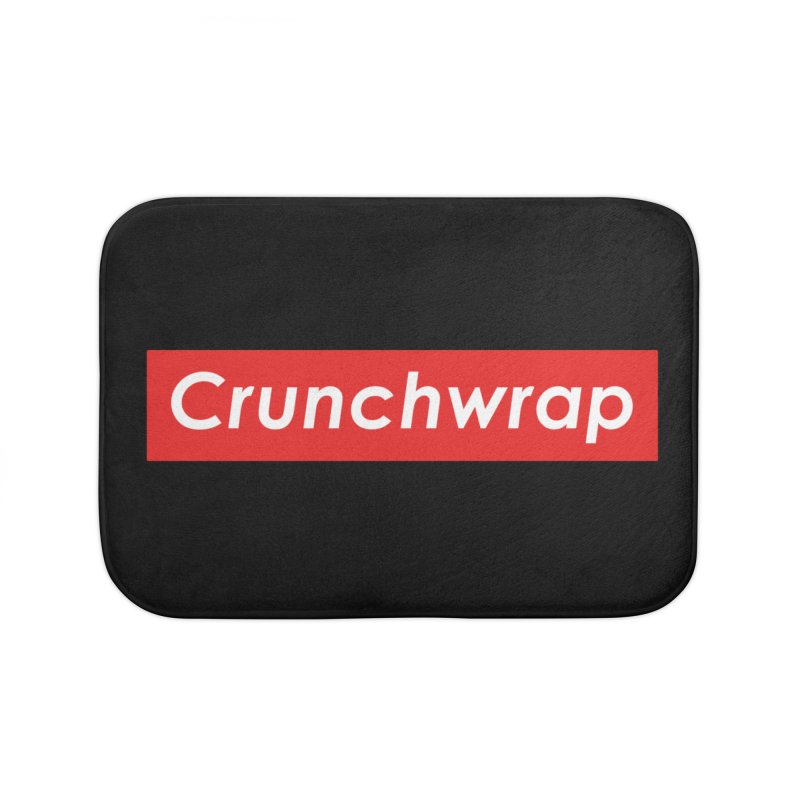 CrunchWrap Home Bath Mat by 2buffoons's Artist Shop