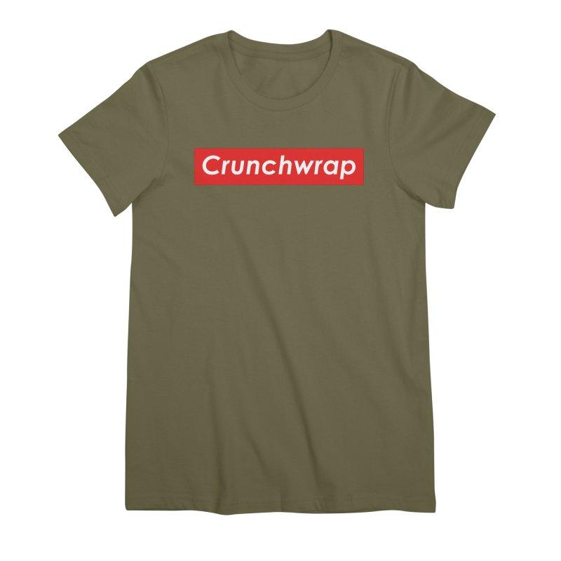 CrunchWrap Women's Premium T-Shirt by 2buffoons's Artist Shop