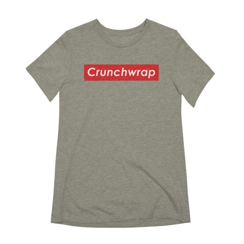 CrunchWrap Women's Extra Soft T-Shirt by 2buffoons's Artist Shop