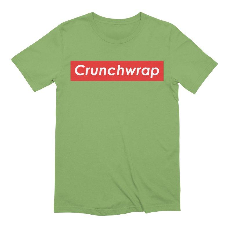 CrunchWrap Men's Extra Soft T-Shirt by 2buffoons's Artist Shop