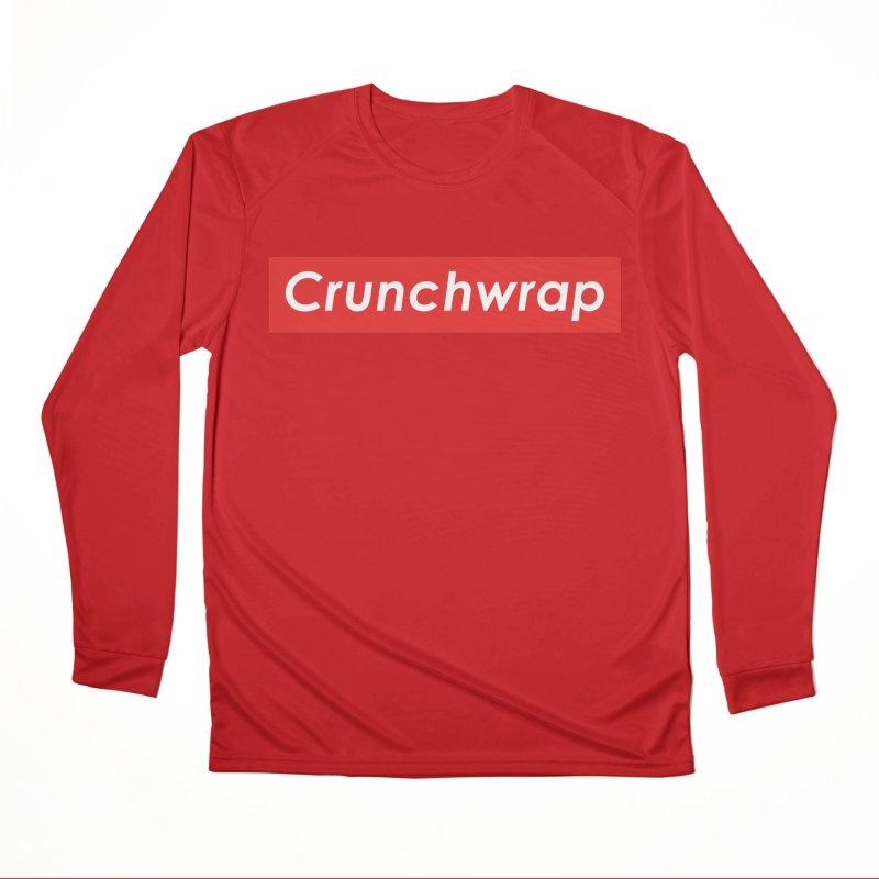 CrunchWrap Men's Performance Longsleeve T-Shirt by 2buffoons's Artist Shop