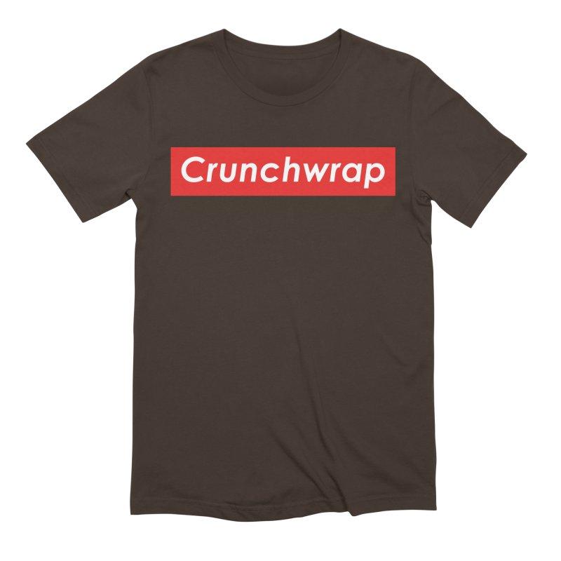 CrunchWrap Men's T-Shirt by 2buffoons's Artist Shop