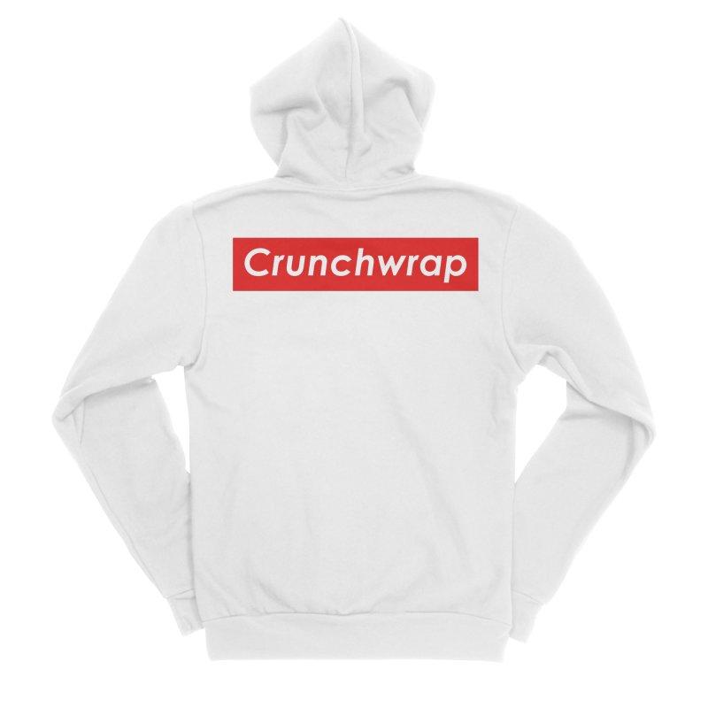 CrunchWrap Men's Sponge Fleece Zip-Up Hoody by 2buffoons's Artist Shop