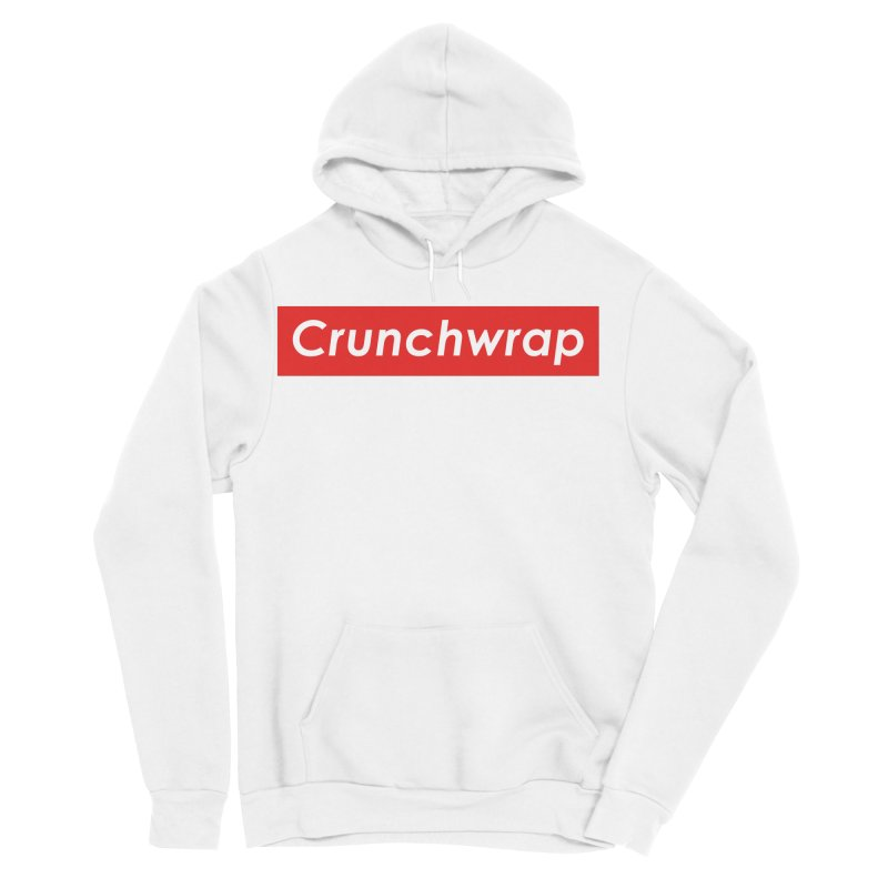 CrunchWrap Men's Sponge Fleece Pullover Hoody by 2buffoons's Artist Shop