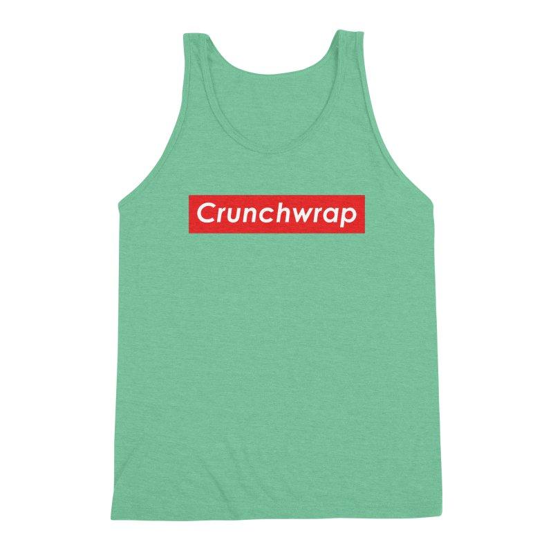CrunchWrap Men's Triblend Tank by 2buffoons's Artist Shop