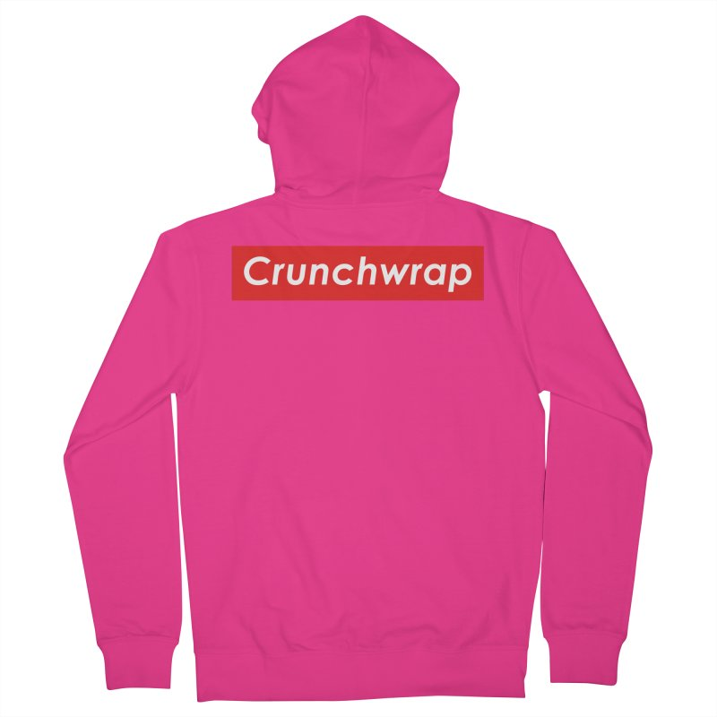 CrunchWrap Men's French Terry Zip-Up Hoody by 2buffoons's Artist Shop