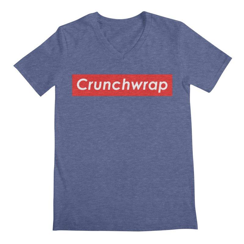 CrunchWrap Men's Regular V-Neck by 2buffoons's Artist Shop