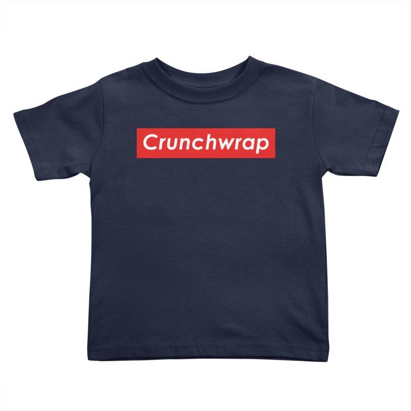 CrunchWrap Kids Toddler T-Shirt by 2buffoons's Artist Shop