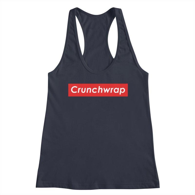 CrunchWrap Women's Racerback Tank by 2buffoons's Artist Shop