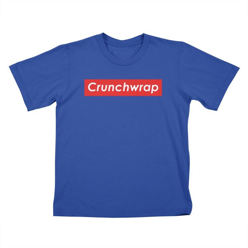 CrunchWrap Kids T-Shirt by 2buffoons's Artist Shop