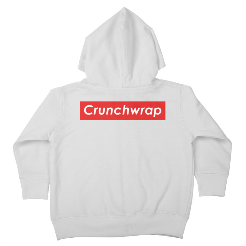 CrunchWrap Kids Toddler Zip-Up Hoody by 2buffoons's Artist Shop