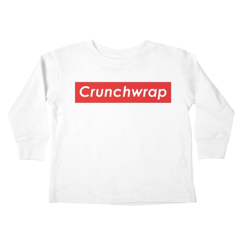 CrunchWrap Kids Toddler Longsleeve T-Shirt by 2buffoons's Artist Shop