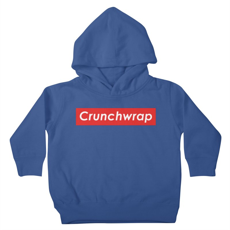 CrunchWrap Kids Toddler Pullover Hoody by 2buffoons's Artist Shop