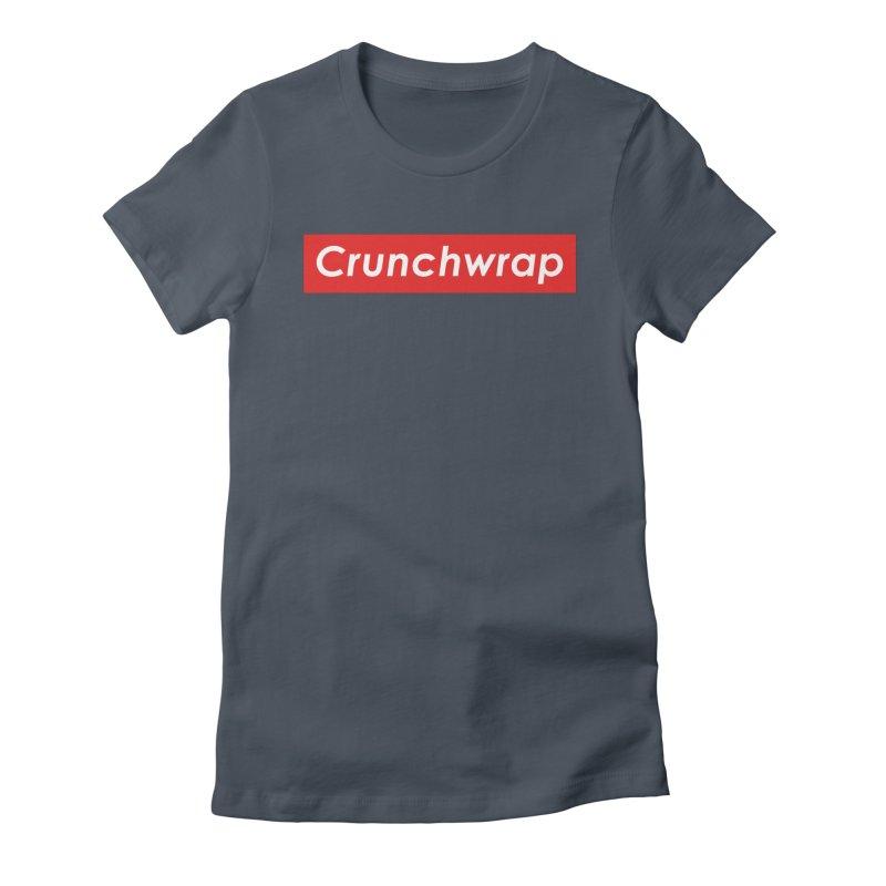 CrunchWrap Women's T-Shirt by 2buffoons's Artist Shop