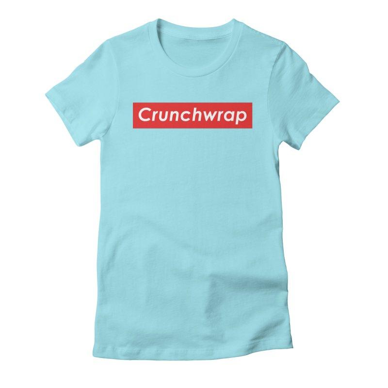 CrunchWrap Women's Fitted T-Shirt by 2buffoons's Artist Shop