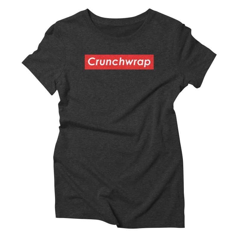 CrunchWrap Women's Triblend T-Shirt by 2buffoons's Artist Shop