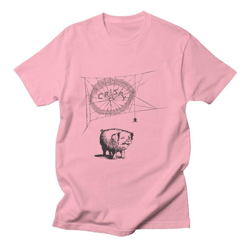 Charlotte's Web of Deceipt Men's Regular T-Shirt by 2D