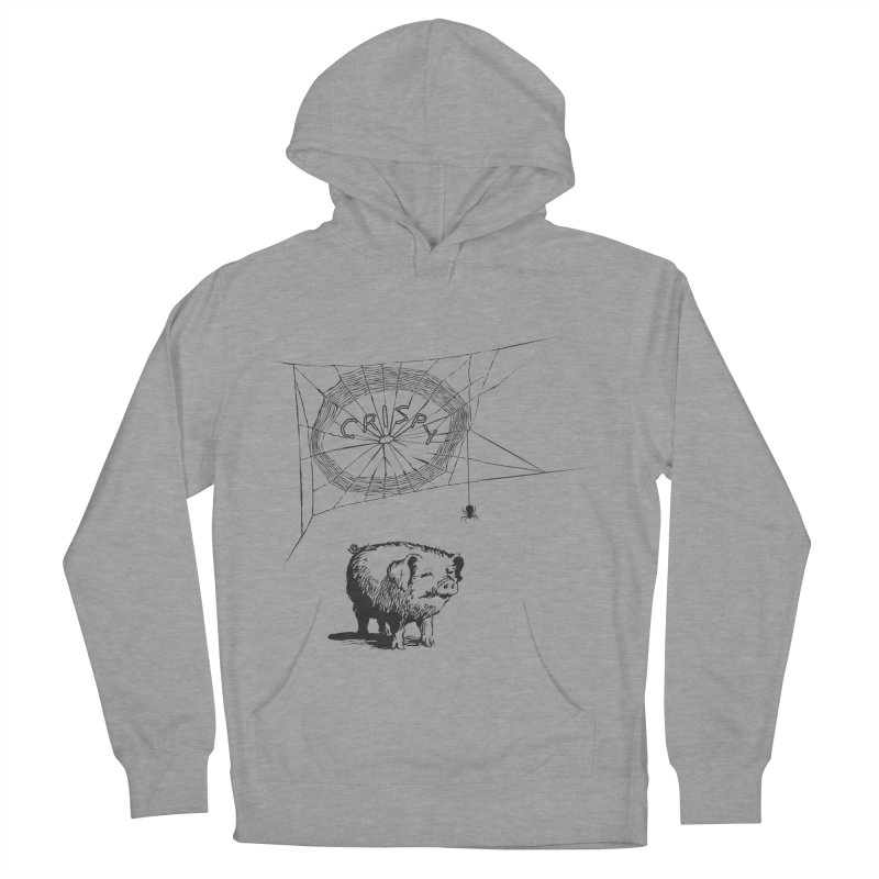 Charlotte's Web of Deceipt Men's French Terry Pullover Hoody by 2D