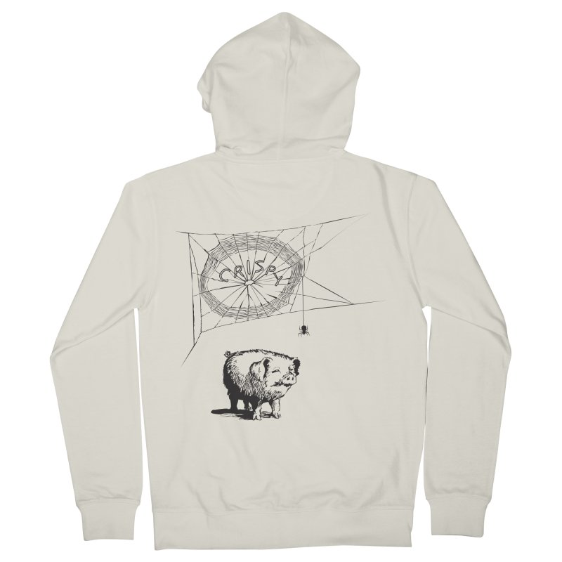 Charlotte's Web of Deceipt Men's Zip-Up Hoody by 2D