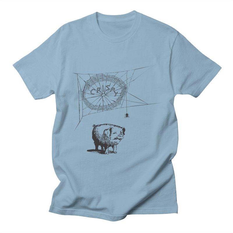 Charlotte's Web of Deceipt Men's T-Shirt by 2D