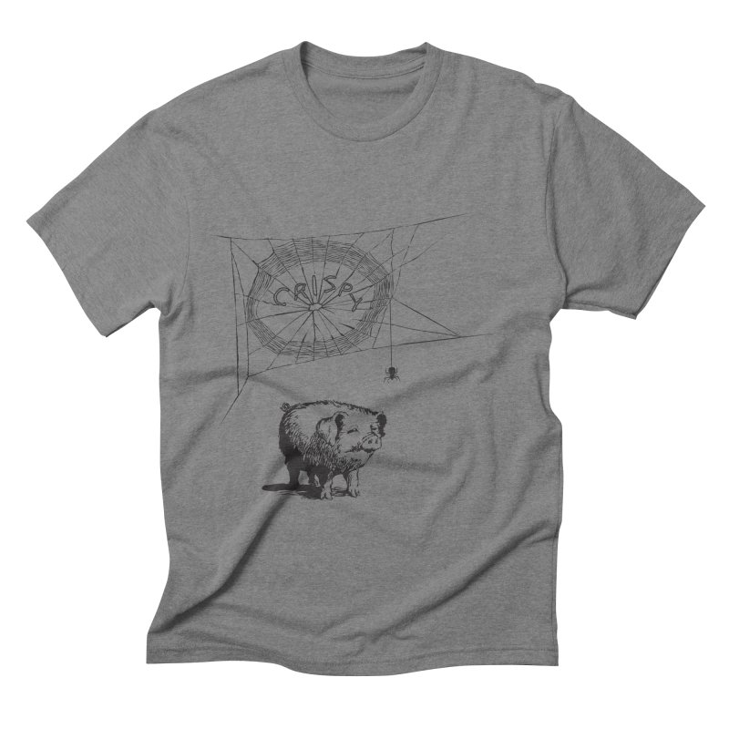 Charlotte's Web of Deceipt Men's Triblend T-Shirt by 2D