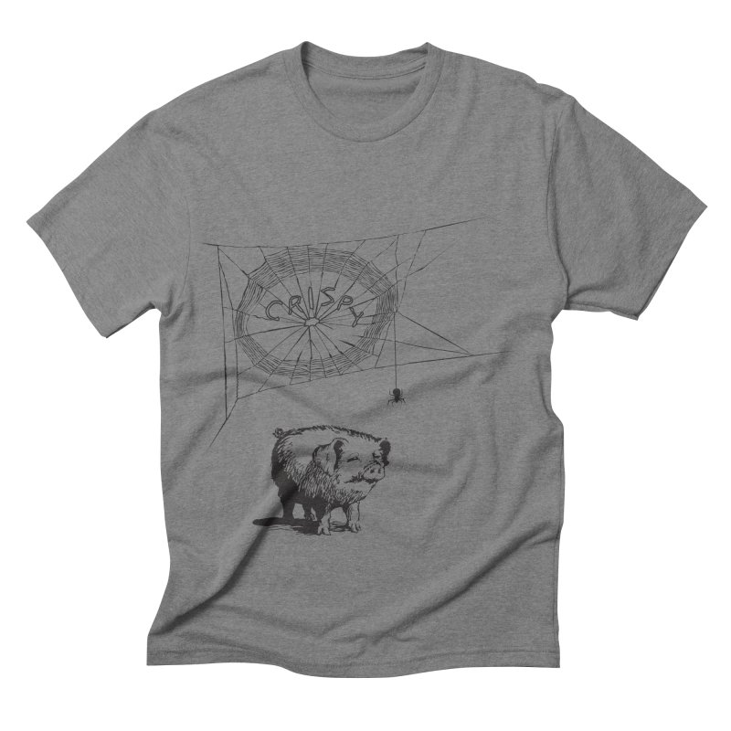 Charlotte's Web of Deceipt Men's Triblend T-shirt by 2D