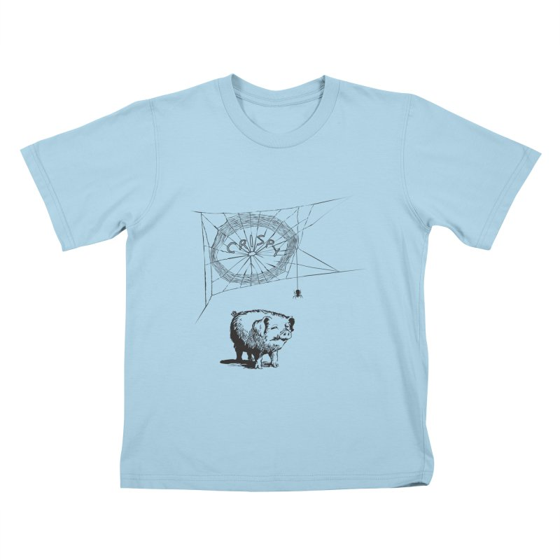 Charlotte's Web of Deceipt Kids T-shirt by 2D