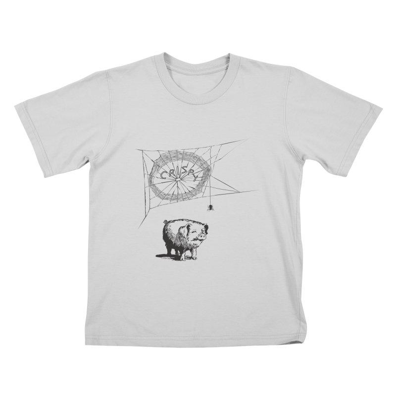 Charlotte's Web of Deceipt Kids T-Shirt by 2D