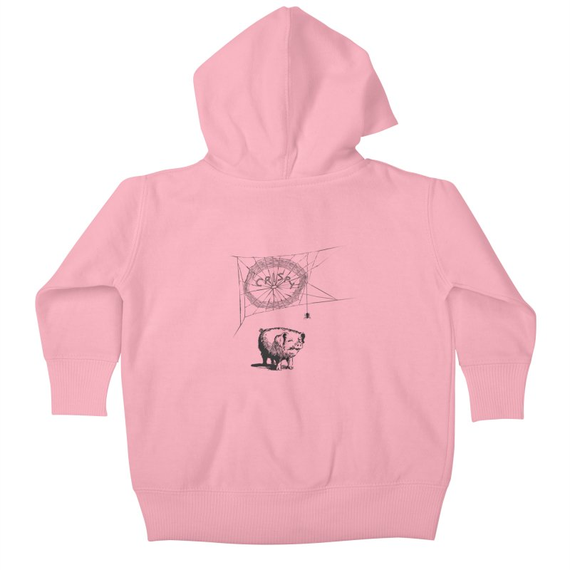 Charlotte's Web of Deceipt Kids Baby Zip-Up Hoody by 2D