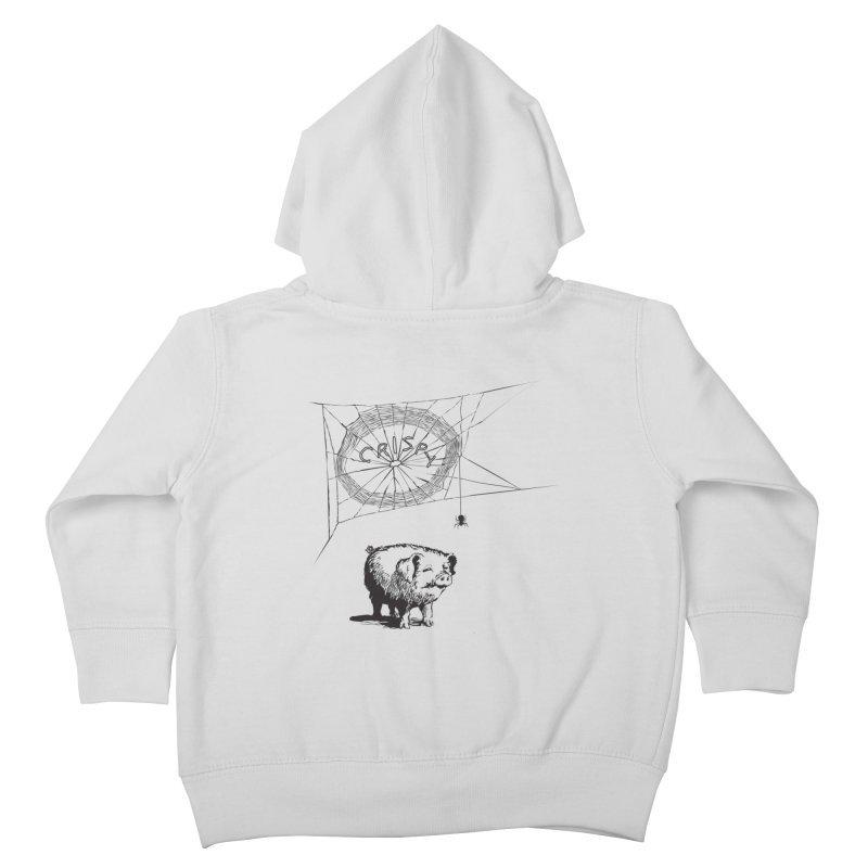 Charlotte's Web of Deceipt Kids Toddler Zip-Up Hoody by 2D
