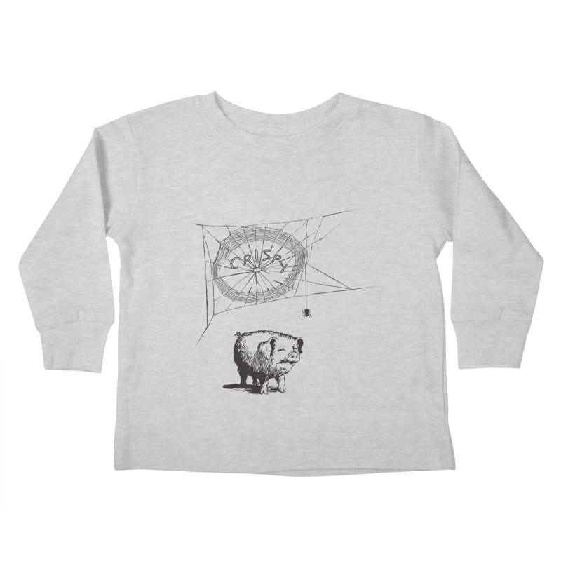 Charlotte's Web of Deceipt Kids Toddler Longsleeve T-Shirt by 2D