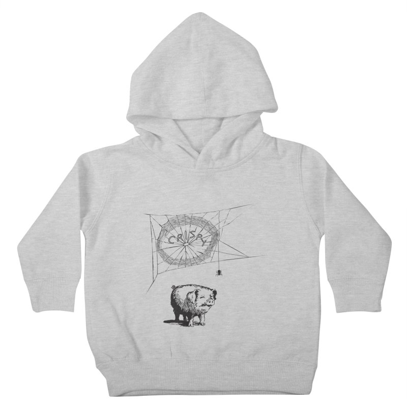 Charlotte's Web of Deceipt Kids Toddler Pullover Hoody by 2D