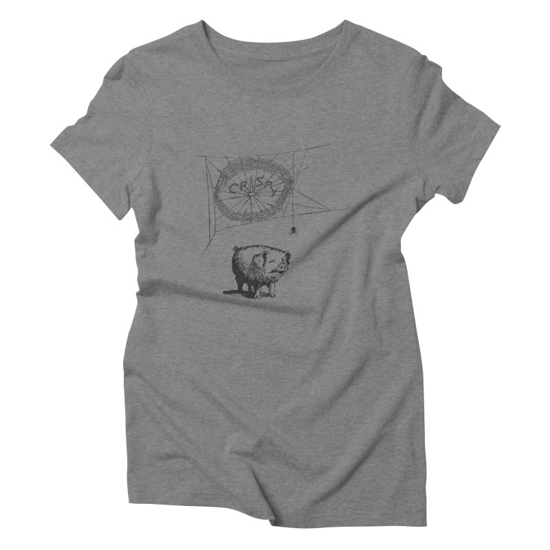 Charlotte's Web of Deceipt Women's Triblend T-shirt by 2D