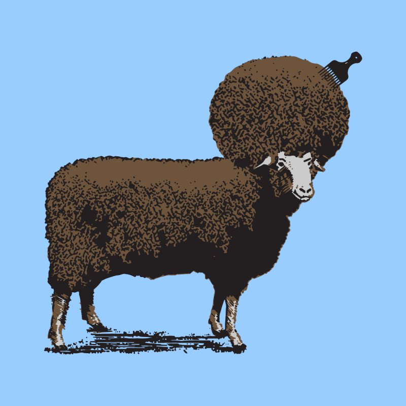 The Black Sheep Men's T-Shirt by 2D