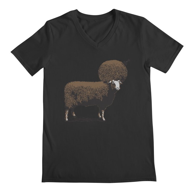 The Black Sheep Men's V-Neck by 2D