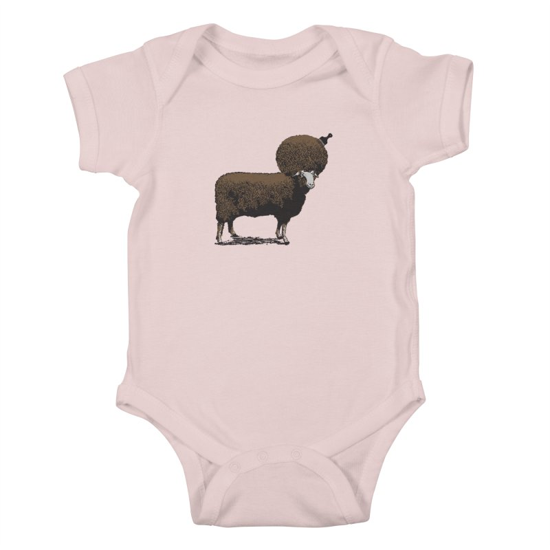 The Black Sheep Kids Baby Bodysuit by 2D